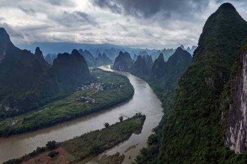 2017-7 Xianggong Hill Yangshuo China